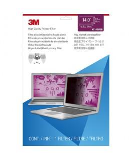 """Filtre de confidentialité pour ordinateur portable de 14"""" HC140W9B - 3M"""