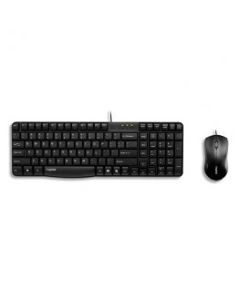Ensemble clavier souris sans fil noir N1850 RA14722 - Rapoo