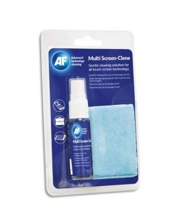Kit voyage nettoyant : 1 spray 25 ml + 1 petit chiffon microfibre - AF France