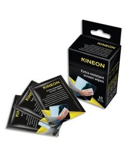 Boîte de 10 lingettes écrans extra résistantes - Kineon