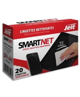 Boîte de 20 lingettes nettoyantes individuelles SmartNet - Jelt Professionnel®