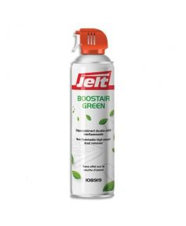 Aérosol dépoussiérant BOOSTAIR GREEN gaz1234ze HFO sans HFC 650 ml/500g - Jelt Professionnel®