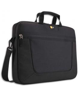 """Sacoche classique nylon PC portable de 15"""" à 16.3'' à compartiments noir - Case Logic®"""