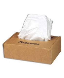 Boîte de 100 sacs de destructeurs 23 à 28 litres