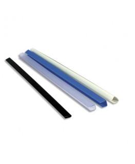 Boîte de 25 baguettes à relier manuelles Serodo 3 mm incolore - Exacompta