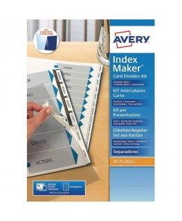 Kit de présentation Indexmaker 6 touches - Avery®