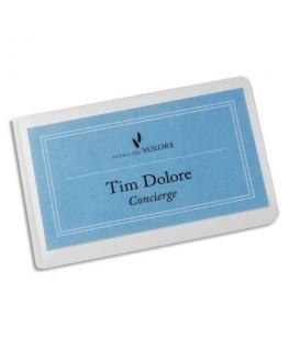 Boîte de 10 pochettes de plastification à froid SEAL IT format carte de visite 57 x 90 mm - Durable