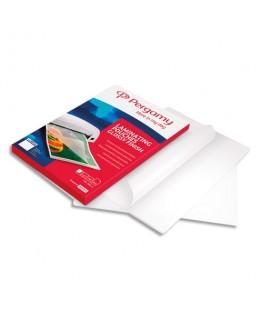 Boîte de 100 pochettes de plastification 2x 75 microns A4 - Pergamy