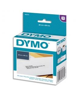 Boîte de 130 étiquettes LW adresse petit volume 89 x 28 mm 1983173 - Dymo®