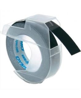 Ruban pour pince à marquer Blanc / Noir 9 mm x 3 m - S0898130 - Dymo®