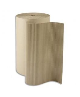 Rouleau de carton ondulé écru 312 g/m² 19 kg - Emballage