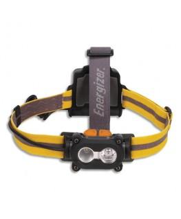 Lampe frontale 5 leds noire adaptable sur casques autonomie 25h portée 80 m 3 types d'attaches - Energizer®