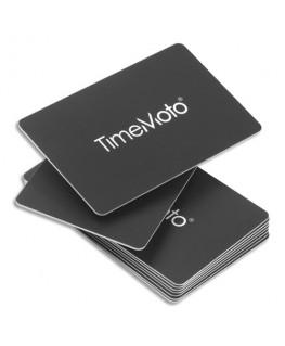 Boîte de 25 badges cartes RF-100 pour pointeuses TimeMoto 125-0603 - Safescan