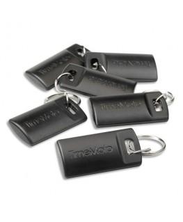 Boîte de 25 badges porte-clés RF-110 pour pointeuses TimeMoto 125-0604 - Safescan