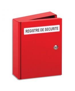 Coffret registre de sécurité