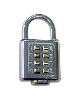 Cadenas 8 chiffres digital à combinaison - Safetool®