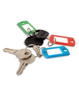 Boîte de 20 porte-clés avec anneaux