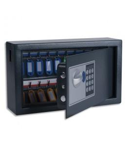 Armoire à clés électronique gris foncé
