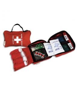 Trousse premiers secours spécial véhicules pour 1 à 4 personnes - Laboratoires Esculape