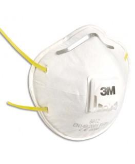 Boîte de 10 masques de protection respiratoire FFP1