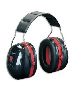 Casque anti-bruit Optime III serre-tête réglable coloris noir - Peltor® by 3M