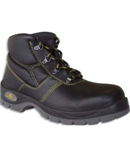 Paire de chaussures Haute Gargas Basic cuir fleur de bovin impregné semelle acier Pointure 39 - Delta Plus