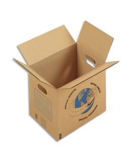 Paquet de 20 caisses déménagement à poignées