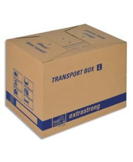 Carton de déménagement double cannelure 50 x 35 x 35.5 cm brun - tidyPac®