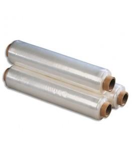 Bobine de film étirable manuel transparent 15 microns