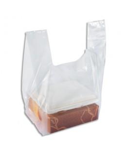 Paquet de 100 sacs bretelles transparent