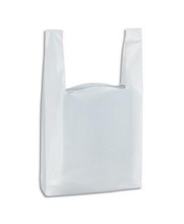 Paquet de 500 sacs bretelles blanc