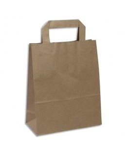 Paquet de 250 sacs papier Kraft recyclé brun