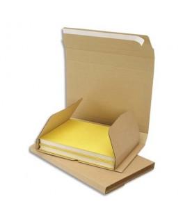 Etui postal en carton brun