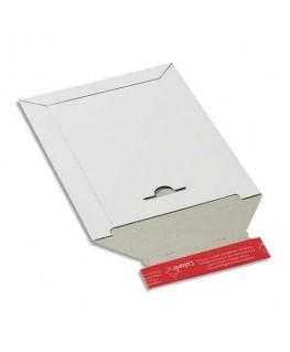 Pochette d'expédition en carton blanc B5+