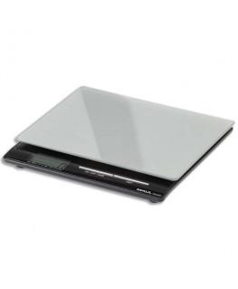 Pèse-lettres MAULsquare à pile portée 5 kg plateau verre de sécurité