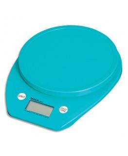Pèse-lettres MAULGoal Bleu à piles plastique portée 5 kg