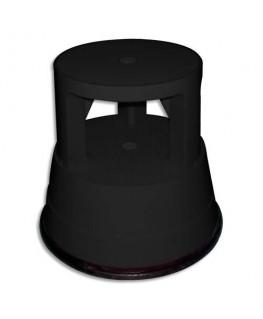 Marchepied diamètre 28 cm hauteur 38 cm plastique coloris noir - Safetool®