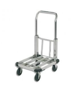 Chariot pliable aluminium largeur 40 cm