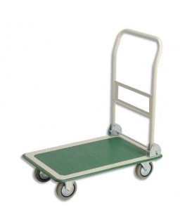 Chariot pliable charge utile 300 kg dimensions 74.5 x 86 x 48 cm - Safetool®