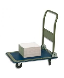 Chariot pliable en acier charge maximale 150 kg - Safetool®
