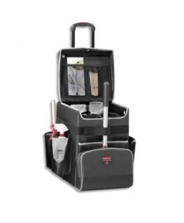 Chariot Quick Cart mobile multi-usage à compartiments 41.9 x 53.3 x 36.3 cm gris foncé  - Rubbermaid®