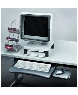 Tiroir clavier et tablette souris graphite - Fellowes®