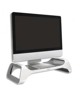 Support moniteur I-Spire gris/blanc - Fellowes®