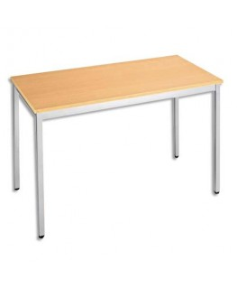 Table universelle et polyvalente être aluminium