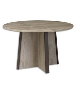 Table de réunion ronde Mambo diamètre 120 cm