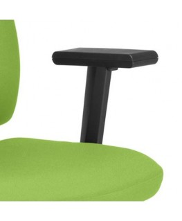Paire d'accoudoirs réglables pour sièges Square et Twiteur coloris noir - Nowy Styl Group®