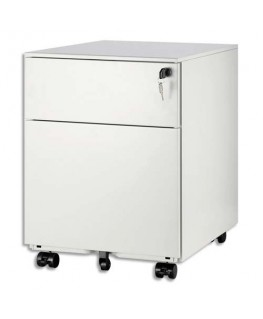 Caisson mobile 2 tiroirs MT5 dont 1 pour dossiers suspendus