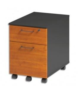 Caisson mobile 2 tiroirs dont 1 pour dossier suspendus Jazz+