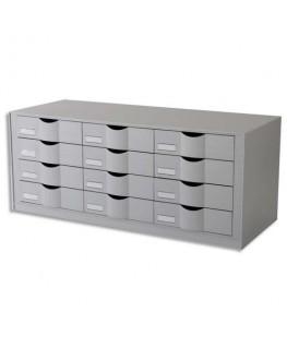 Bloc classeur à 12 tiroirs pour documents 24 x 32 cm
