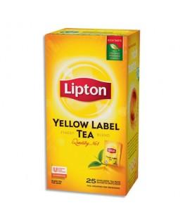 Boîte de 25 sachets de thé Yellow Label - Lipton